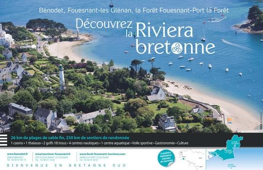 Découvrez la Riviera bretonne